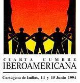 logotipo IV Cumbre Iberoamericana Cartagena de Indias 1994