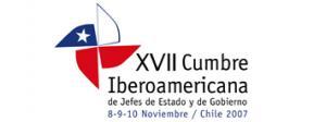 logotipo XVII Cumbre Iberoamericana Santiago de Chile 2007