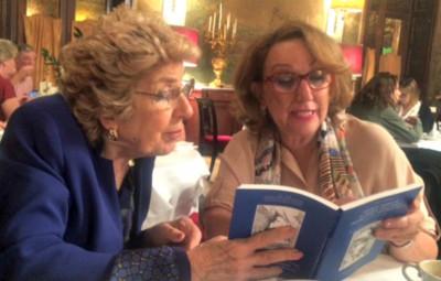 Mamma Erasmus y la Secretaria General Iberoamericana