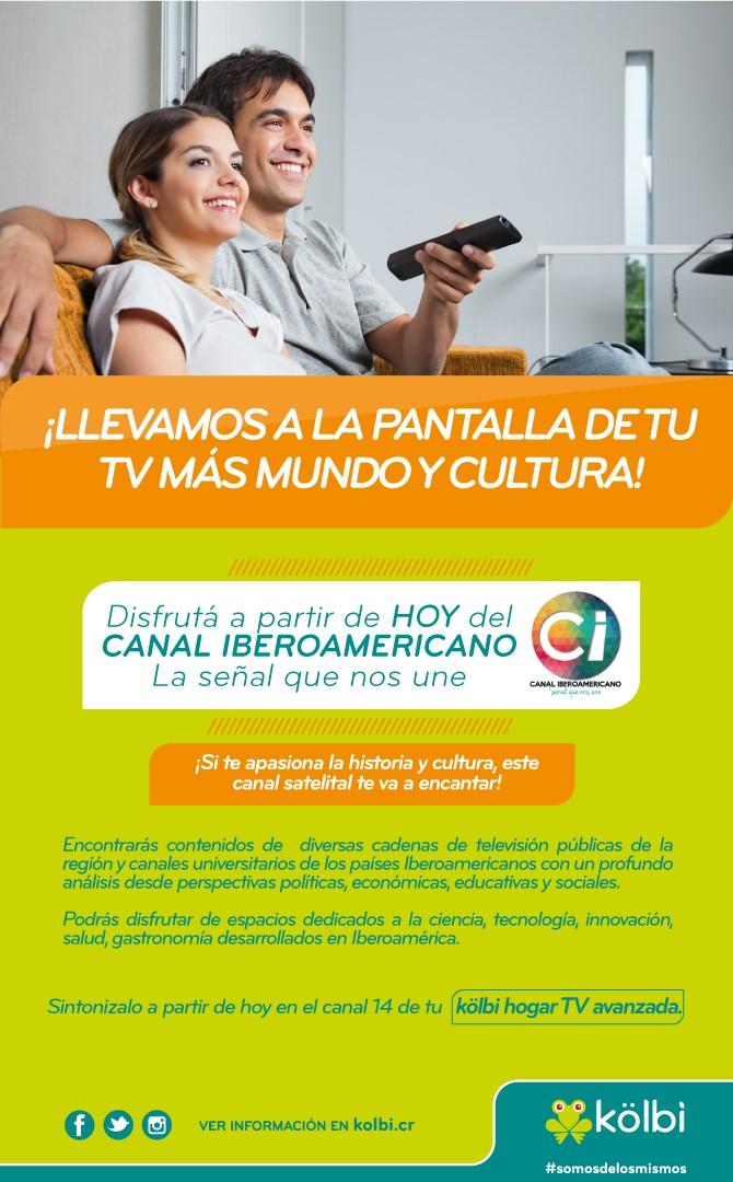 Promoción kolbi TV (Canal Iberoamericano)