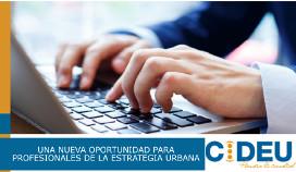logotipo Centro Iberoamericano de desarrollo estratégico urbano: CIDEU