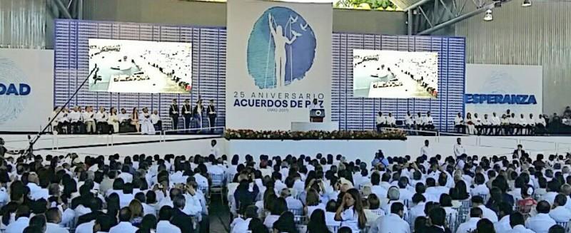 25 años de los acuerdos de paz de El Salvador
