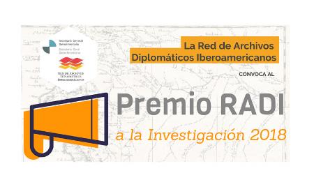 Prêmio RADI à pesquisa 2018