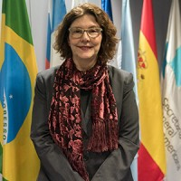 Mariangela Rebuá, secretaria adjunta iberoamericana